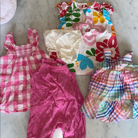 4 Baby Gap Summer Dresses for 3-6 Month Baby!